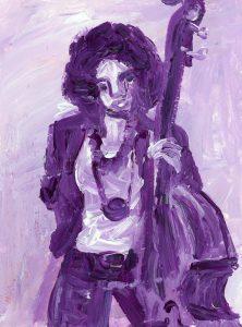 Portrait of Esperanza Spalding by Violet Depintrix