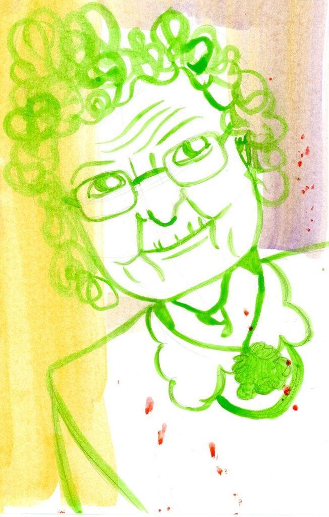 Portrait of Hazel Wolf by Sanjevni Prasad