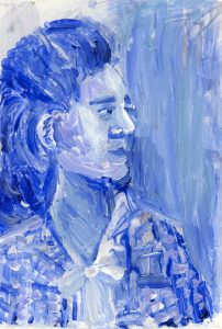 Portrait of Helen Cecile Beck Stafford by Violet Depintrix