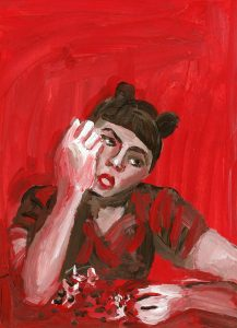 Portrait of Monyee Chau by Violet Depintrix