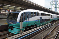 Photo of a commuter train