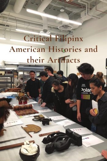Cover image for Critical Filipinx American Histories and their Artifacts