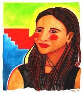 En La Lucha, art by Veronica Eldredge