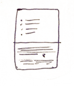 List on Paper Icon