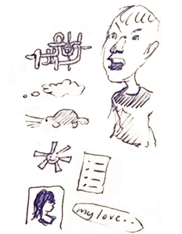 Bocetos, Icons