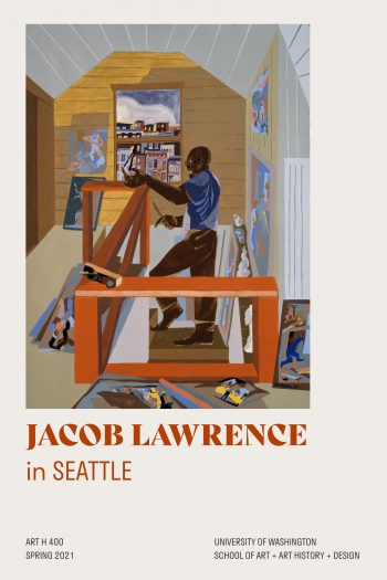 Cover image for Jacob Lawrence in Seattle
