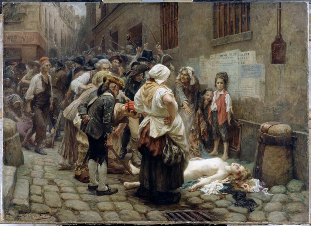 Death of the Princess de Lamballe