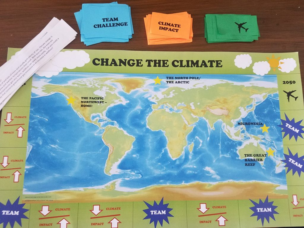 Change the Climate Game Board